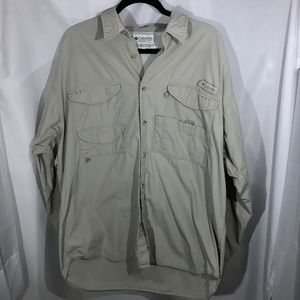 Men's Columbia Performance Fishing Gear Shirt